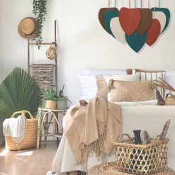 TDy Corner Macrame Feathers Macrame Leaves Wall Hanging (4)
