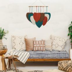 TDy Corner Macrame Feathers Macrame Leaves Wall Hanging (8)