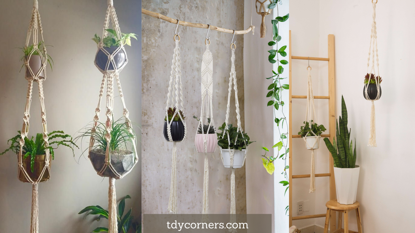 TDy Corners 5 Notes When Buying And Using Macrame Plant Hangers