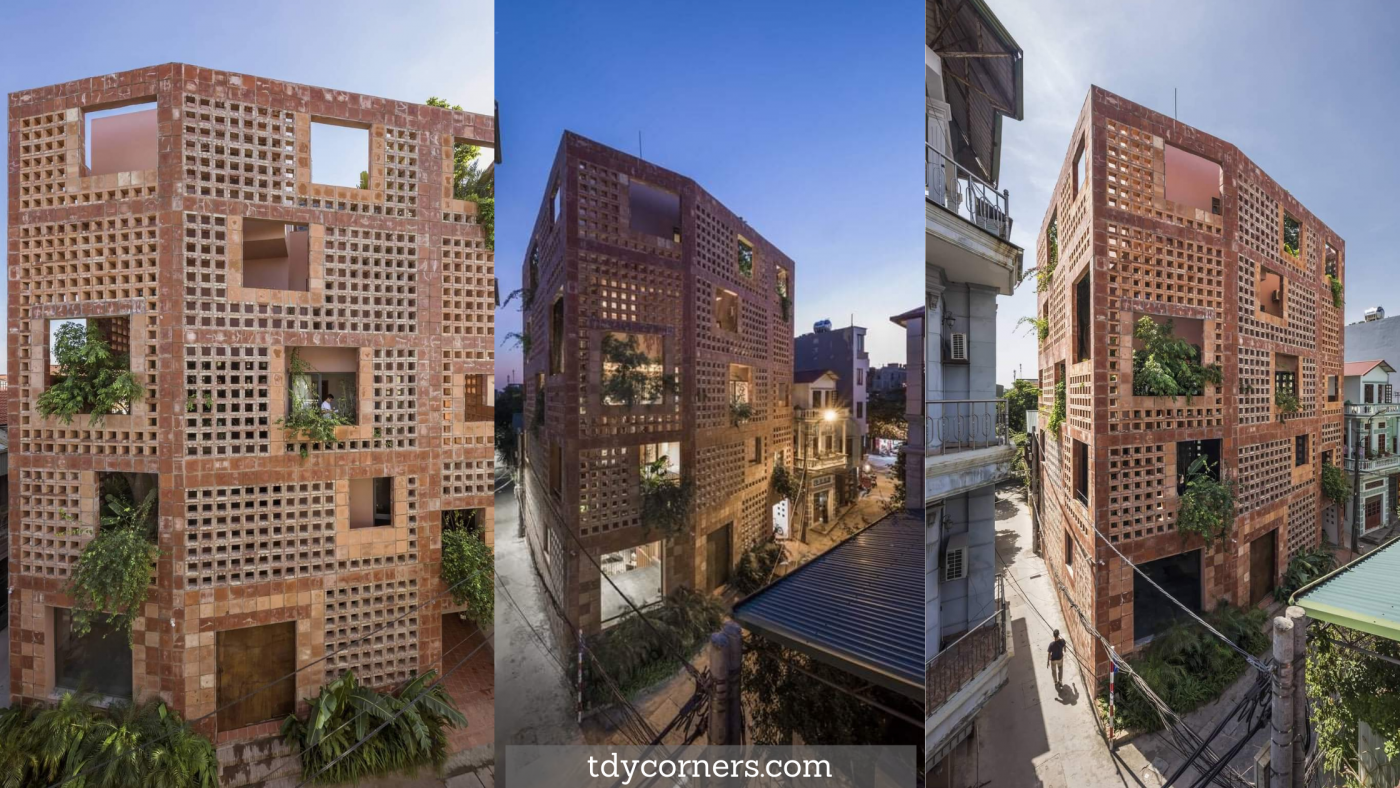 TDy Corners BAT TRANG Terracotta House Won At The International Architecture Awards