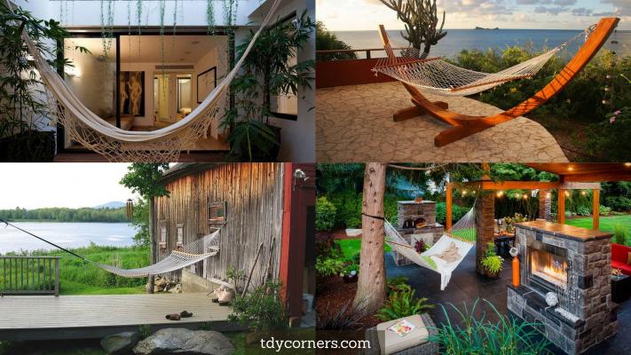TDy Corners Ideas Of Decorating Balcony Or Backyard With Hammock For Summer Season
