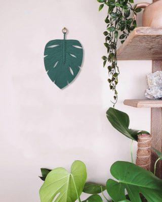 TDy Corners Macrame Monstera Leaf Wall Hanging (9)