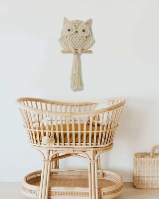 TDy Corners Macrame Owl Wall Hanging (10)