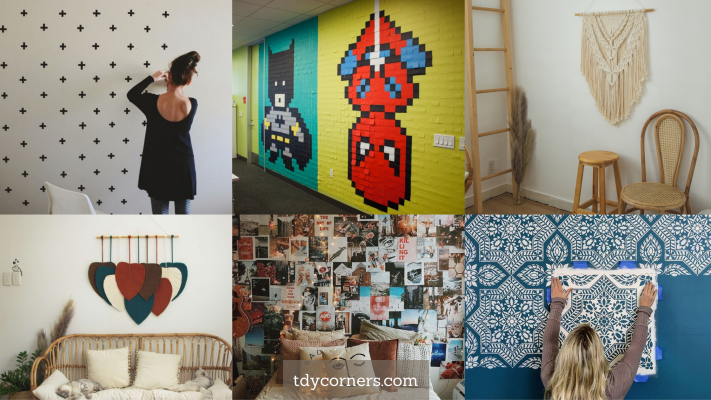 TDy Corners Make Highlight With 12 Decorating Ideas For Old Wall